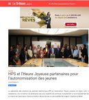 Signature d'une convention de partenariat avec HPS (article LNT)